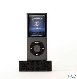 speaker per ipod e iphone nero hi- brick