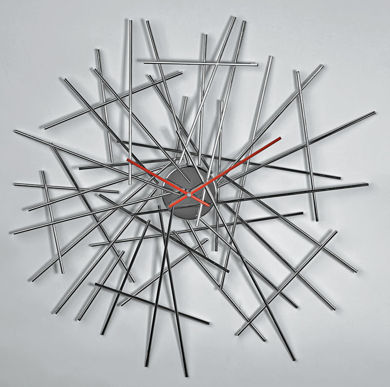 orologio da parete inox bowl up - Alessi | Orologi da parete ...